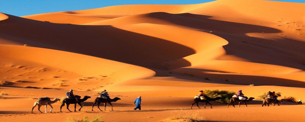 3 Days trip from Marrakesh to Merzouga desert