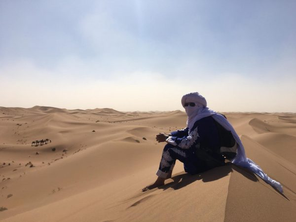 Excursion privée au désert d'erg chegaga au départ de Zagora