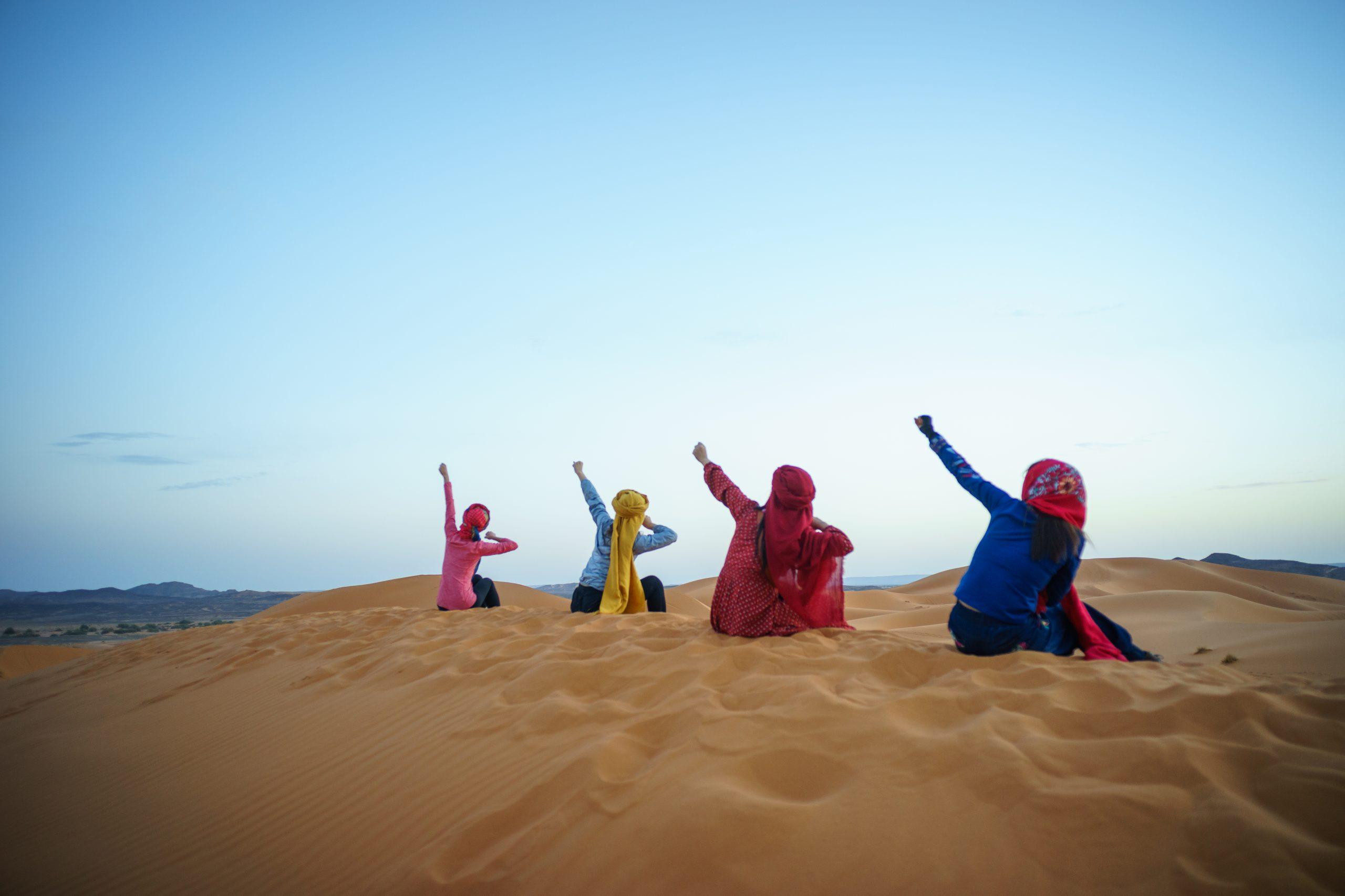 circuit 2 jours Fès au désert de Merzouga fin  a Marrakech