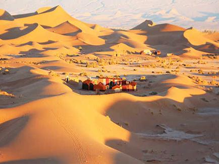 4 day trip  Marrakech Chegaga
